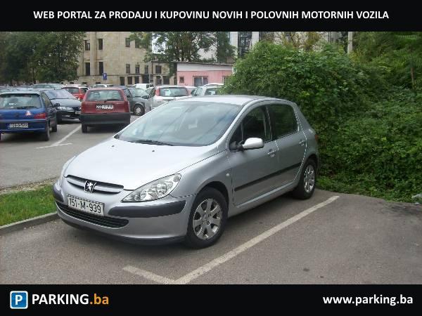 Peugeot 307 20 Hdi Banja Luka Parkingba Autopijaca