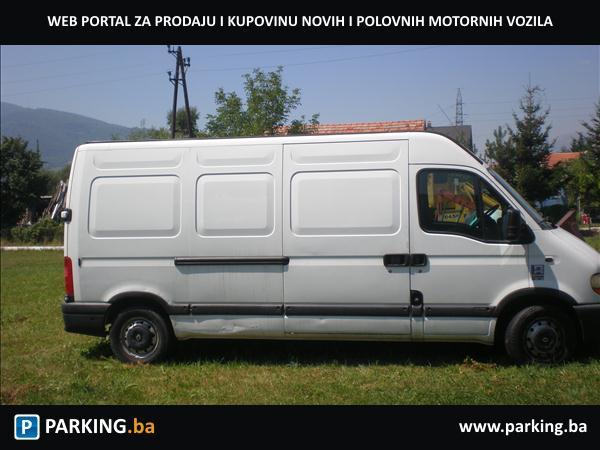 Renault master kombi - Parking.ba - Autopijaca Travnik Online - Auto