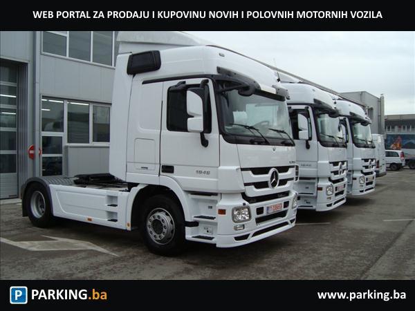 Mercedes-Benz Actros 1846 LS - Parking.ba - Autopijaca Mostar Online